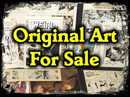 Original comic art, pulp and illustration art AUCTIONS at ComicBidZ.com